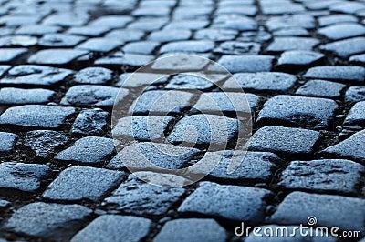 Cobblestone way