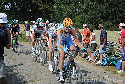 Cobblestones hurt (Tour de France '10)