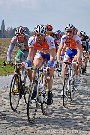 Free Cobblestones In The Tour Of Flanders Royalty Free Stock Photos - 16295488