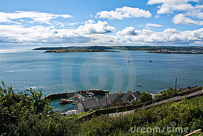 Cobh harbour in County Cork