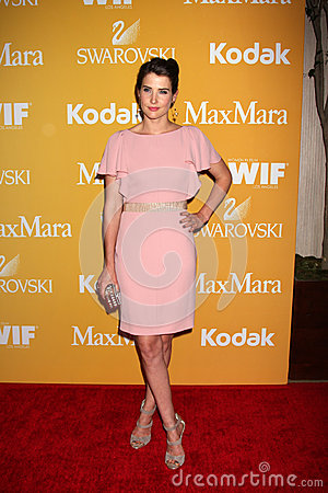 Cobie Smulders arrives at the City of Hope s Music And Entertainment Industry Group Honors Bob Pittman Event Editorial Image