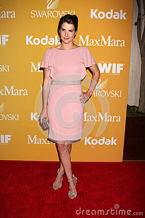 Cobie Smulders arrives at the City of Hope s Music And Entertainment Industry Group Honors Bob Pittman Event Editorial Photography