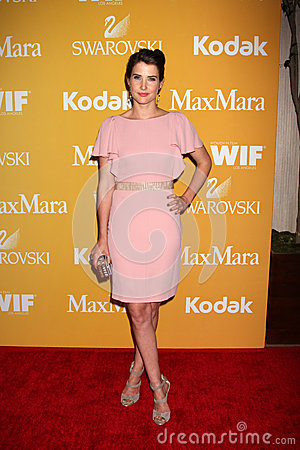 Cobie Smulders arrives at the City of Hope s Music And Entertainment Industry Group Honors Bob Pittman Event Editorial Stock Photo