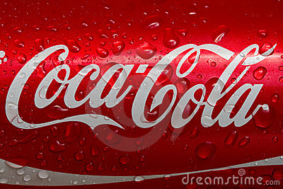 Coca-cola Immagine Editoriale
