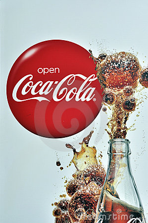 Coca-cola Redactionele Foto
