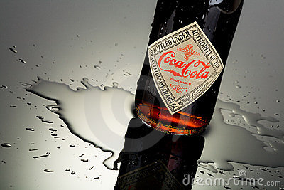 Coca cola bottle Editorial Photo