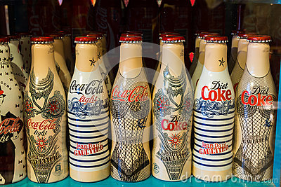 Coca-Cola Collection Editorial Image