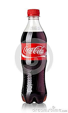 Free Coca-Cola Plastic Bottle Royalty Free Stock Photo - 64145055