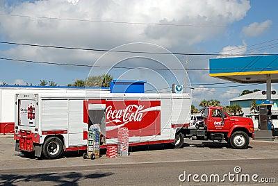 Coca Cola Truck Editorial Image