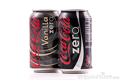 Coca Cola Zero Editorial Image