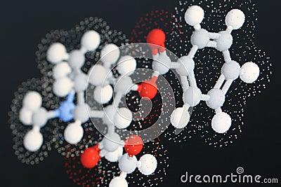 Cocaine molecule 2