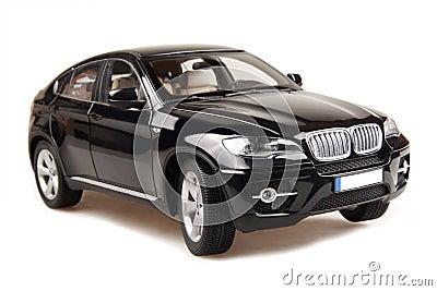 Coche del suv de BMW