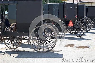Cochecillos de Amish