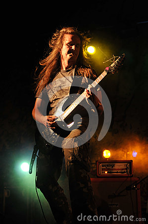 Cochese - rock band on stage Editorial Photography