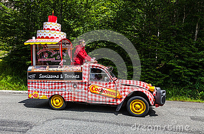 Cochonou car Editorial Stock Photo