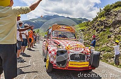 Cochonou Vehicle Editorial Photography