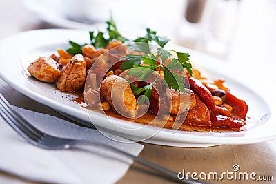 Cocido húngaro.