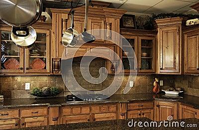Cocina moderna cómoda