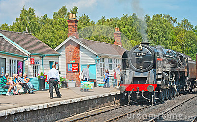 of the North at Grosmont Editorial Stock Photo