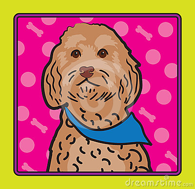 Cockapoo Cartoon