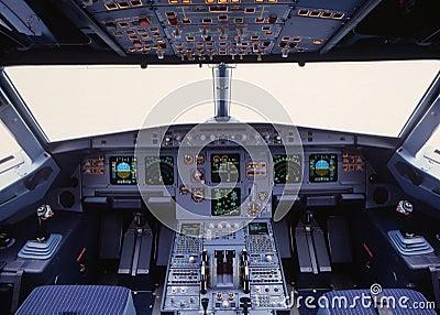 Cockpit A319