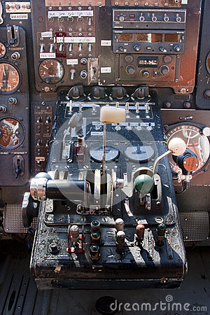 Free Cockpit Airplane Antonov 2 Royalty Free Stock Photography - 31693967