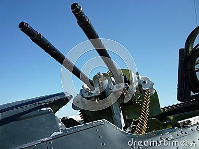 Cockpit Machine Guns