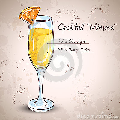 Free Cocktail Alcohol Mimosa Stock Photos - 63003883