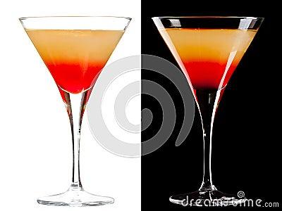 Cocktail alcolico freddo