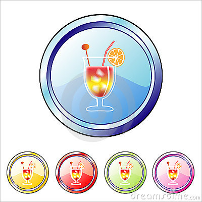 Cocktail buttons