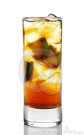 Cocktail - Cognac with Lime