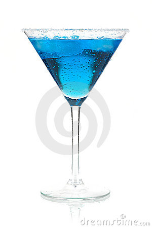 Free Cocktail Collection - Blue Martini Royalty Free Stock Images - 12774189