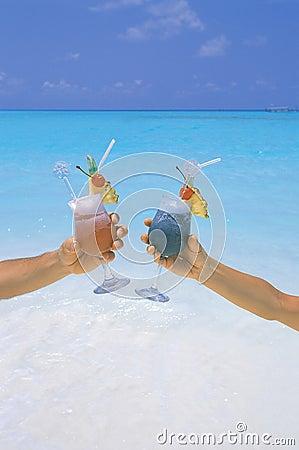 Sexe sur la plage coctail