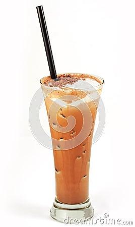 Cocktail do café no vidro #7