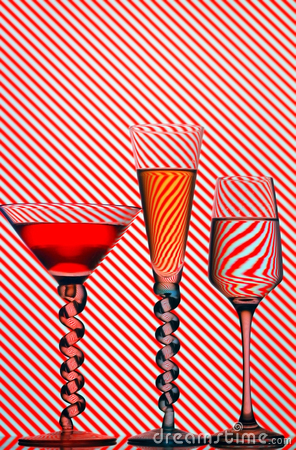 Free Cocktail Glasses Royalty Free Stock Image - 16738516