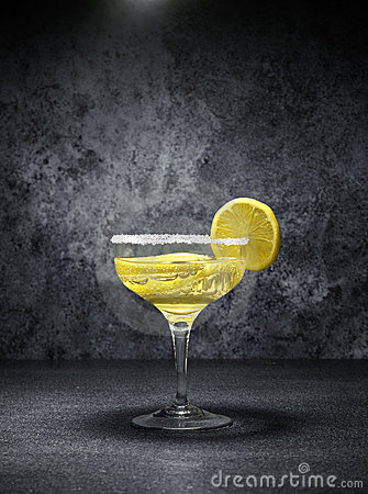 Cocktail with lemons