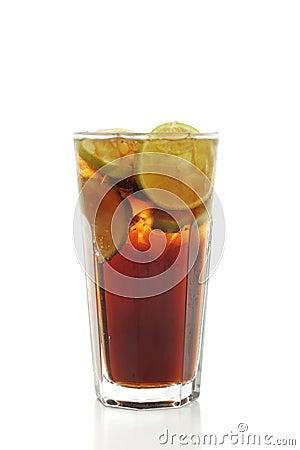 Free Cocktail - Long Island Iced Tea Royalty Free Stock Photo - 5516315