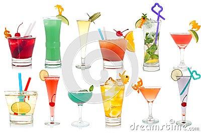 Cocktail operati della bevanda