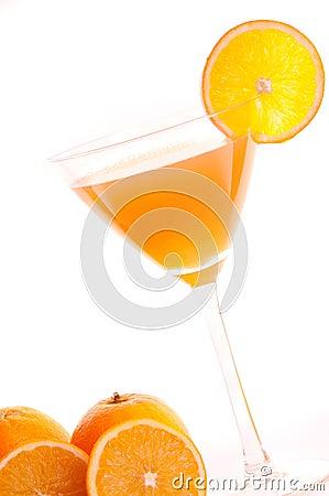Cocktail of orange
