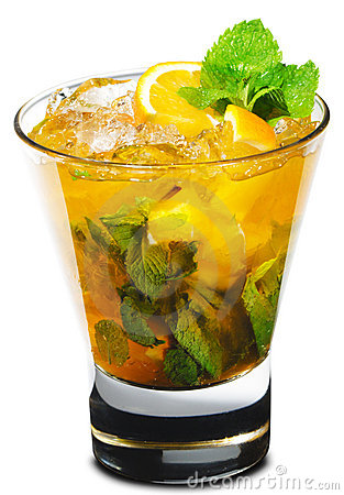 Cocktail - Orange Mojito