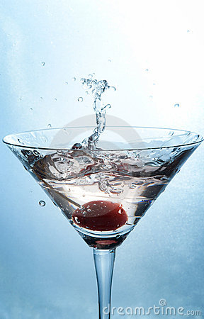 Free Cocktail Splash Stock Photography - 18487822