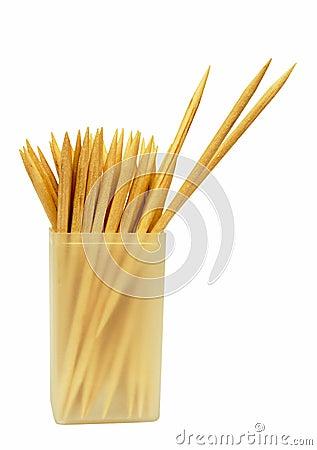 Free Cocktail Sticks / Toothpicks - Isolated Stock Image - 17165701