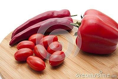 Cocktail tomato Stock Photo
