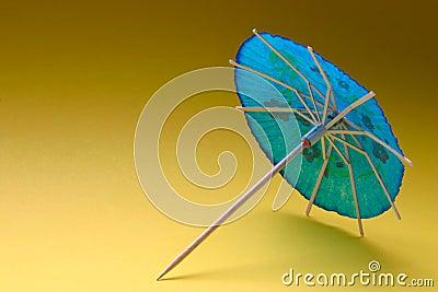 Cocktail umbrella - blue