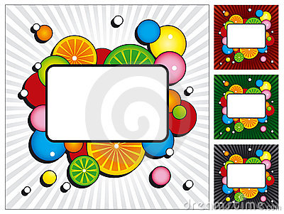 Cocktail vector backgrounds