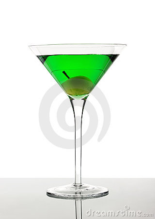 Cocktail vert photographie stock image 14698062 for Cocktail russe blanc