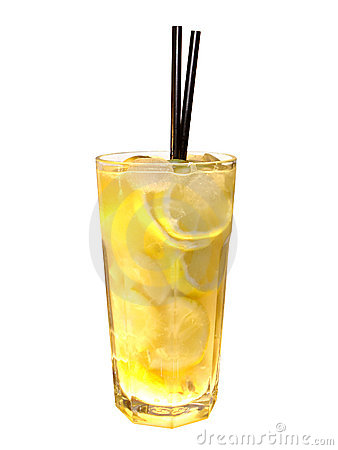 Cocktail vodka lemon