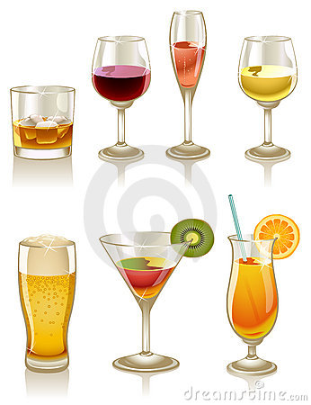 Free Cocktails And Drinks Royalty Free Stock Image - 17795126