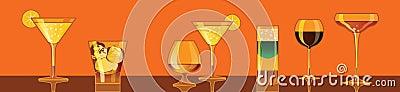 Cocktails, drinks