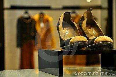 Coco Chanel luxury fashion in Italy  Editorial Stock Image